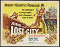 "Movie Posters:Adventure, Journey to the Lost City Lot (American International, 1960). HalfSheets (2) (22"" X 28""). Adventure.. ... (Total: 2 Items)"