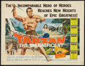 "Movie Posters:Adventure, Tarzan the Magnificent (Paramount, 1960). Half Sheet (22"" X 28"").Adventure.. ..."