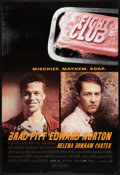 """Movie Posters:Action, Fight Club (20th Century Fox, 1999). One Sheet (27"""" X 40"""") DS Advance Style A. Action.. ..."""