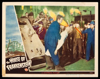"House of Frankenstein (Universal, 1944). Lobby Card (11"" X 14""). Horror"