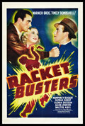"Movie Posters:Crime, Racket Busters (Warner Brothers, 1938). One Sheet (27"" X 41"").Crime.. ..."