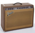Musical Instruments:Amplifiers, PA, & Effects, 1962 Fender Super Brown Tolex Guitar Amplifier #57904 ...