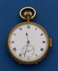 Timepieces:Pocket (post 1900), Swiss Quarter Hour Repeater. ...