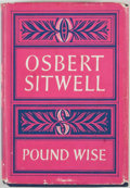 Books:First Editions, Sir Osbert Sitwell. Pound Wise....