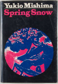 Books:First Editions, Yukio Mishima. Spring Snow....
