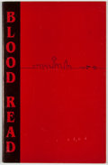 Books:First Editions, Neils. Blood Read. Poems....