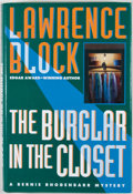 Books:First Editions, Lawrence Block. The Burglar in the Closet....
