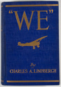 "Books:First Editions, Charles A. Lindbergh. ""We""...."