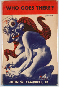 John W. Campbell. Who Goes There? Chicago: Shasta, 1948. First edition, first printing. Octavo
