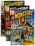 Bronze Age (1970-1979):Horror, Where Monsters Dwell Group (Marvel, 1970-75) Condition: AverageFN.... (Total: 37 Comic Books)