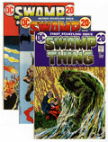 Bronze Age (1970-1979):Horror, Swamp Thing #1-24 Group (DC, 1972-76).... (Total: 24 Comic Books)