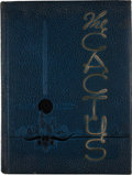 Books:First Editions, [The Cactus Yearbook for University of Texas]. [Alfred A. King,editor]. The Cactus 1940....