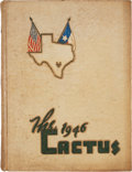 Books:First Editions, [The Cactus Yearbook for University of Texas]. [Margaret M. Conrad,editor]. The Cactus 1946....