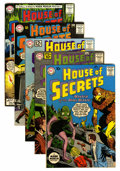 Silver Age (1956-1969):Mystery, House of Secrets Group - Savannah pedigree (DC, 1961-63) Condition:Average VF+.... (Total: 5 Comic Books)