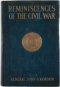 Books:First Editions, General John B. Gordon. Reminiscences of the Civil War....