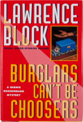 Books:First Editions, Lawrence Block. Burglars Can't Be Choosers....