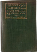 Books:First Editions, Edward A. Moore. The Story of a Cannoneer Under StonewallJackson....