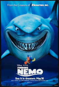 "Finding Nemo (Disney, 2003). One Sheet (27"" X 40"") DS Advance. Animated"