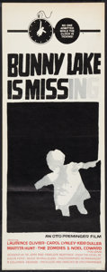 """Movie Posters:Mystery, Bunny Lake is Missing (Columbia, 1965). Insert (14"""" X 36"""").Mystery.. ..."""