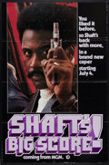 "Movie Posters:Blaxploitation, Shaft's Big Score! (MGM, 1972). One Sheet (27"" X 41"") Advance. Blaxploitation.. ..."