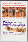 "Movie Posters:Western, Return of the Seven Lot (United Artists, 1966). One Sheets (2) (27"" X 41""). Western.. ... (Total: 2 Items)"
