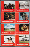 "Movie Posters:War, Von Richthofen and Brown (United Artists, 1971). Lobby Card Set of8 (11"" X 14""). War.. ... (Total: 8 Items)"