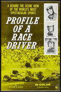 "Movie Posters:Sports, Profile of a Race Driver (Universal, 1960). One Sheet (27"" X 41""). Sports.. ..."