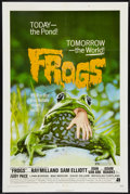 """Movie Posters:Horror, Frogs (American International, 1972). One Sheet (27"""" X 41""""). Horror.. ..."""