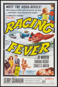"Racing Fever (Allied Artists, 1964). One Sheet (27"" X 41""). Sports"