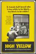"""Movie Posters:Exploitation, High Yellow (Thunder Pictures, 1965). One Sheet (28"""" X 42"""").Exploitation.. ..."""