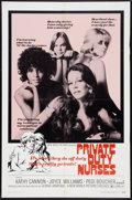 "Movie Posters:Sexploitation, Private Duty Nurses Lot (New World, 1971). One Sheets (1) (27"" X41"") and (1) (28"" x 40""). Sexploitation.. ... (Total: 2 Items)"