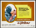 """Movie Posters:Horror, The Abominable Dr. Phibes (American International, 1971). Half Sheet (22"""" X 28""""). Horror.. ..."""