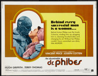 """The Abominable Dr. Phibes (American International, 1971). Half Sheet (22"""" X 28""""). Horror"""