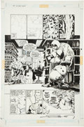 Original Comic Art:Panel Pages, Frank Miller and Klaus Janson Batman: The Dark Knight #3Batman in Disguise page 2 Original Art (DC, 1986)....