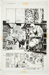 Frank Miller and Klaus Janson Batman: The Dark Knight #3 Batman in Disguise page 2 Original Art (DC, 1986)