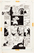 Original Comic Art:Panel Pages, Frank Miller and Klaus Janson Batman: The Dark Knight #4Death of the Joker page 2 Original Art (DC, 1986)....