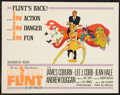 "Movie Posters:Action, In Like Flint (20th Century Fox, 1967). Half Sheet (22"" X 28"").Action.. ..."