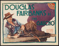 """Movie Posters:Adventure, The Gaucho (United Artists, 1927). Title Lobby Card (11"""" X 14"""").Adventure.. ..."""
