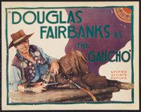 """The Gaucho (United Artists, 1927). Title Lobby Card (11"""" X 14""""). Adventure"""