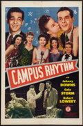 "Movie Posters:Musical, Campus Rhythm (Monogram, 1943). One Sheet (27"" X 41""). Musical....."
