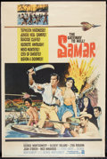 "Movie Posters:Adventure, Samar Lot (Warner Brothers, 1962). Posters (5) (40"" X 60"") Style Y.Adventure.. ... (Total: 5 Items)"