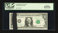 Error Notes:Ink Smears, Fr. 1908-D $1 1974 Federal Reserve Note. PCGS Choice New 63PPQ.....