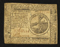 Colonial Notes:Continental Congress Issues, Continental Currency February 17, 1776 $2 Very Fine.. ...