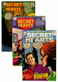 Silver Age (1956-1969):Romance, Secret Hearts Group - Savannah pedigree (DC, 1965-71) Condition:Average NM-.... (Total: 5 Comic Books)
