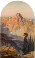 Works on Paper, FROM A PRIVATE COLLECTION, FAYETTEVILLE, ARKANSAS. WILLIAM HENRY HOLMES (American, 1846-1933). Mount of the Holy Cross...