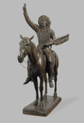 Sculpture, After CYRUS EDWIN DALLIN (American, 1861-1944). Chief Washakie, circa 1975. from the original plaster cast by Caproni Br...