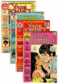 Bronze Age (1970-1979):Romance, Young Romance Savannah pedigree Group (DC, 1971-72) Condition:Average VF+.... (Total: 4 Comic Books)