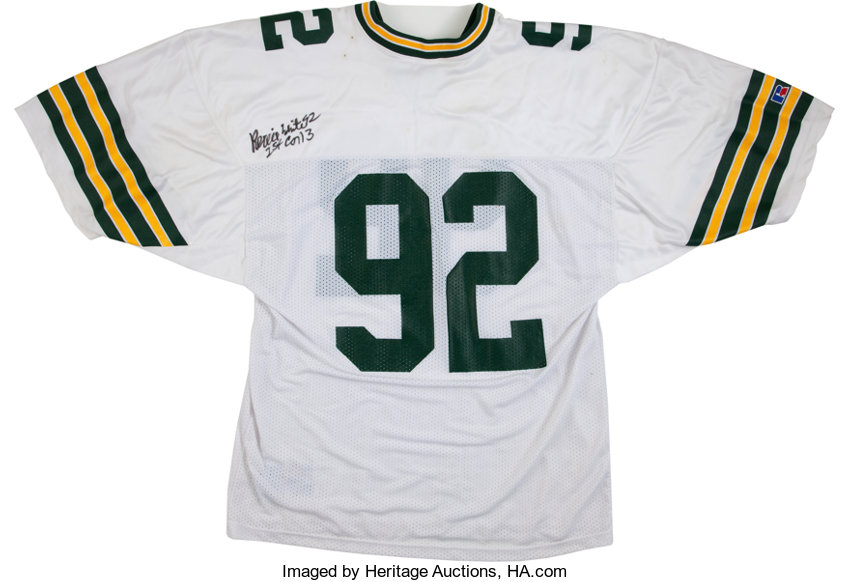 sports shoes e2eab 9cb19 Reggie White Signed Jersey.... Football CollectiblesUniforms ...