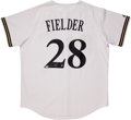 Baseball Collectibles:Uniforms, Prince Fielder Signed Jersey....