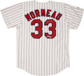 Baseball Collectibles:Uniforms, Justin Morneau Signed Jersey....